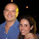 Luiz Rachud e Daphne Dias