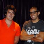 Guga Guizelini e Pierre Greco