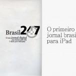 1° jornal brasileiro para iPad