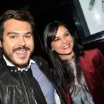 Alessandro Jordão e Maria João Abujamra