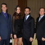Carlos Zuccolo, Sabrina Gasperin e Ara Vartanian e Marcelo Tabacchi