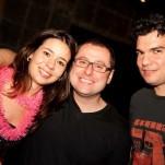 Julia Facchini, Renato Andrade e Marcelo Mencaruni