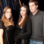 Juliana Sacchi, Carolina Negreiro e Paulo Busson