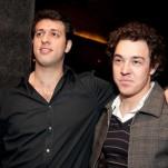 Rodrigo Elian e Marcelo Pebé