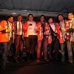 Marcelo Alcatara, Richard Stockinger, Leonardo Onsari, Carlo Gadia, Rodrigo Ruic, Bruno Laporta e Marcel Gholmieh