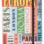 Decó- Caderno de Notas -Traveller Europa-R$66
