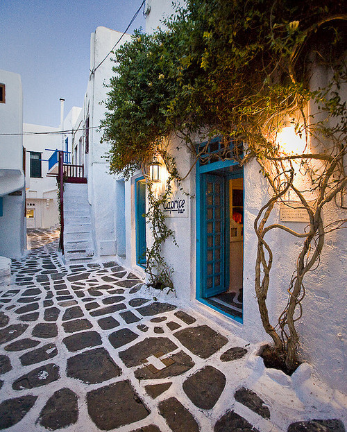 Caprice Bar, Little Venice - Mykonos, Greece