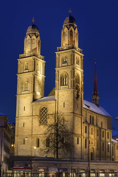 Zurique - Igreja Grossmünster