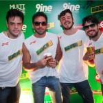 Luiz Felipe Bonetti, Fernando Maranhão, Gustavo Mercadante Frigori e Flayder Reis