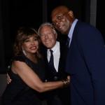 Tina Turner, Giorgio Armani e Samuel L Jackson
