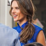 Alessandra-Ambrosios-Low-Wrapped-Side-Ponytail