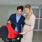 Carol Trentini deixa a maternidade