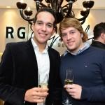Diego Cambraia e Christopher Sima