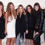 Flavia Millen, Adriana Caruso, Clarissa Wagner, Raquel Silveira, Lara Gerin e Carol Macea