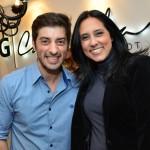 Rogério Capela e Adriana Bittar