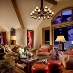 The Arrabelle at Vail Square, A RockResort, Vail, Colorado - Condo Living Room, web