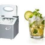 Portable Ice Maker, seu drink sempre gelado ao seu lado