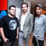 Fernando Sapuppo, Bruno Couto e Leandro Matulja