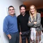 Felipe Diniz, Dudi Machado e Michele Matalon
