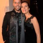 Roberta Armani and Ricky Martin