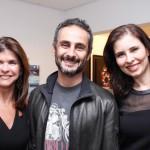 Ana Serra, Ara Vartanian e Renata Castro e Silva