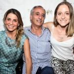 Adriana Helú, Waldir Helú e Patrícia Helú