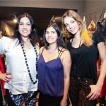 Candice Fagundes, Giovanna Motta e Camila Espinosa