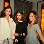 Chris Pitanguy, Maria Sole e Alina Gonçalves