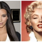 Kim Kardashian é a nova Marilyn Monroe?