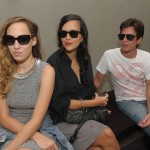 Adriane Lisboa, Karina Mota e Raphael Falci