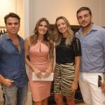 Beto Pacheco, Fabiana Scaranzi, Elaine e Rodrigo Bonfiglioli