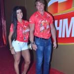 Paola Lessa e Olin Batista