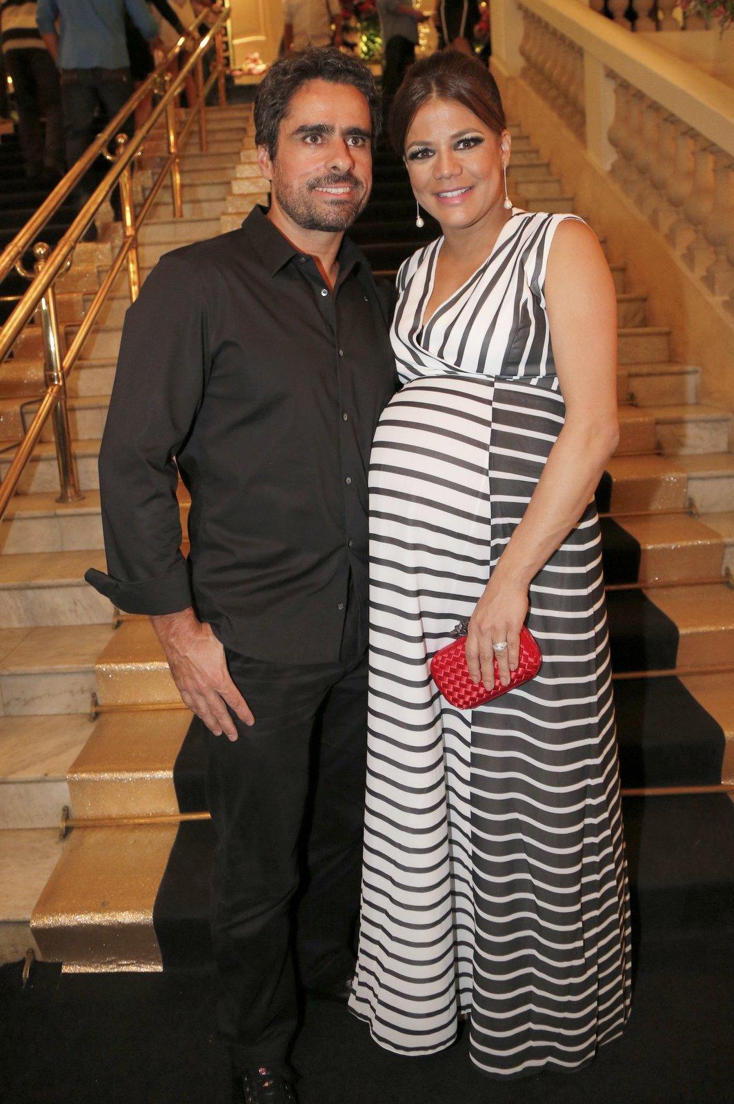 Marcos Rocha e Nivea Stelmann