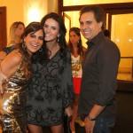Carol Sampaio, Lizandra Souto e Gustavo Fernandes
