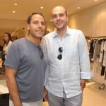 Luiz Lacerda e Antonio Fragoso
