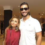 Verane Murad e Sergio Amorim