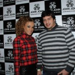 Beto Arruda e Leilah Moreno