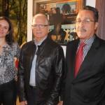 Fabiola Carrilo, Sergio Petrilli e Carlos Pacheco