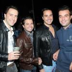 Octavio Ferraz, Diogo Ribeiro, Alexandre Coimbra e Gustavo Savi