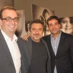 Paulo Coelho, Mauricia Nahas e Guilherme Oliva