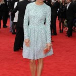 sienna-miller-stylechi-light-blue-long-sleeve-over-the-knee-lace-glitzy-dress-see-through-clutch-studed-heels-red-carpet