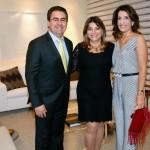 Jose Carlos Semenzato, Sara Semenzato e Marilia Veiga