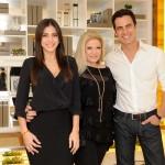 Marcelly, Cilene Lupi e Carlos Casagrande