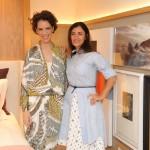 Ninha Chiozzini e Sarah Chofakian