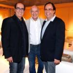 Roberto Cimino, Newton Mesquita e Nelson Amorim