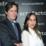 Ricardo Paiva e Denise Vince