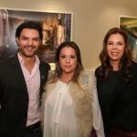 Lucca Machado, Karla Kern e Danielle Assis