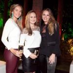 Caroline Barclay, Karla Senna e Leticia Birkheuer