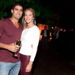 Henrique Bernardes e Caroline Barclay