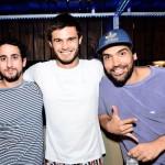 Luay Khoury, Marcelo Simoões e Pedro Lopes